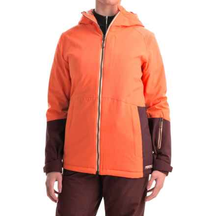 Marker Crossover Ski Jacket - Waterproof, Insulated, RECCO® (For Women) in Hibiscus - Closeouts