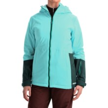 Marker Crossover Ski Jacket - Waterproof, Insulated, RECCO® (For Women) in Ice Blue - Closeouts