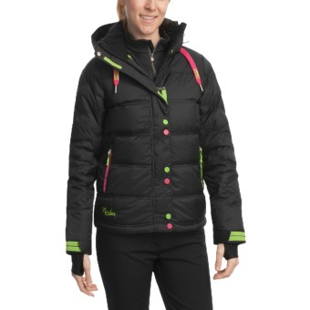 Marker Diva Down Jacket - Waterproof (For Women) in Black