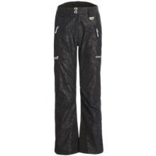 Marker Eclipse Embossed Gore-Tex® Ski Pants - Waterproof, Insulated (For Women) in Black - Closeouts