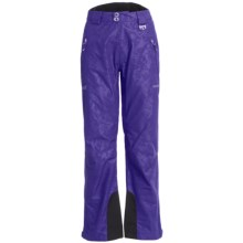 Marker Eclipse Embossed Gore-Tex® Ski Pants - Waterproof, Insulated (For Women) in Violet - Closeouts