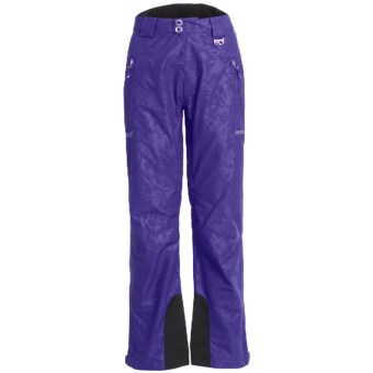 Marker Eclipse Embossed Gore-Tex® Ski Pants - Waterproof, Insulated (For Women) in Violet