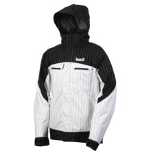 Marker Empire Shell Jacket - Waterproof (For Men) in White/Black - Closeouts