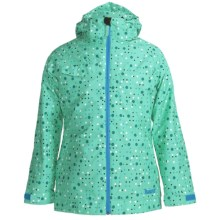 Marker Empress Jacket - Insulated (For Girls) in Aqua - Closeouts