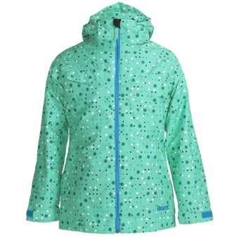 Marker Empress Jacket - Insulated (For Girls) in Aqua