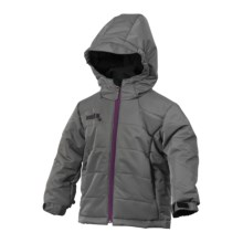 Marker Escapade Jacket - Insulated (For Little Girls) in Graphite - Closeouts