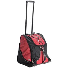 Marker Everything Wheeled Boot Bag in Red/Black - Closeouts