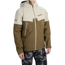 Marker Fall Line Ski Jacket - Waterproof, Insulated (For Men) in Military Olive/Abbey Stone - Closeouts
