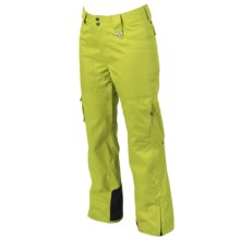 Marker  Flair Ski Pants - Waterproof, Insulated (For Women) in Lime - Closeouts