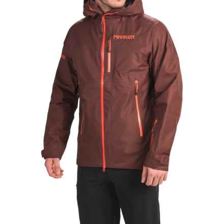 Marker Freel Polartec® NeoShell® Ski Jacket - Waterproof (For Men) in Bitter Brown - Closeouts