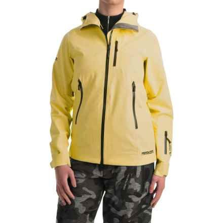 Marker Freel Polartec® NeoShell® Ski Jacket - Waterproof (For Women) in Aspen Yellow - Closeouts
