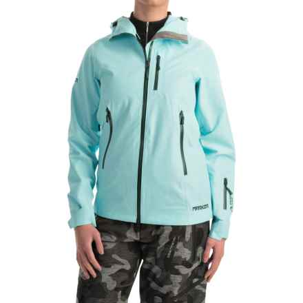 Marker Freel Polartec® NeoShell® Ski Jacket - Waterproof (For Women) in Ice Blue - Closeouts