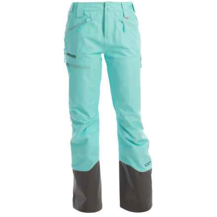 Marker Freel Polartec® NeoShell® Ski Pants - Waterproof (For Women) in Ice Blue - Closeouts