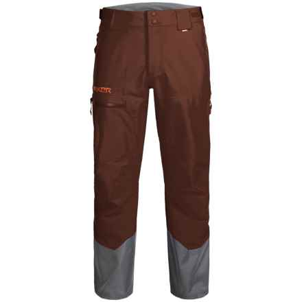 Marker Freel Ski Pants - Waterproof, Insulated (For Men) in Bitter Brown - Closeouts