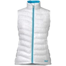 Marker Giada Down Vest - 600 Fill Power (For Women) in White - Closeouts