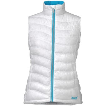 Marker Giada Down Vest - 600 Fill Power (For Women) in White