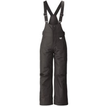 Marker Gillette Bib Ski Pants - Insulated (For Youth) in Black - Closeouts