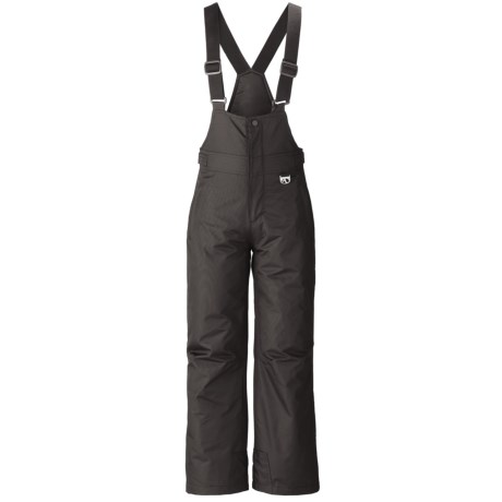 Marker Gillette Bib Ski Pants - Insulated (For Youth) in Black