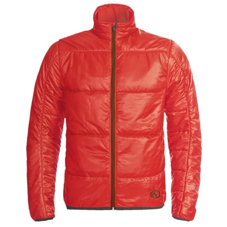 Marker Granite Jacket - PrimaLoft® (For Men) in Mars Red