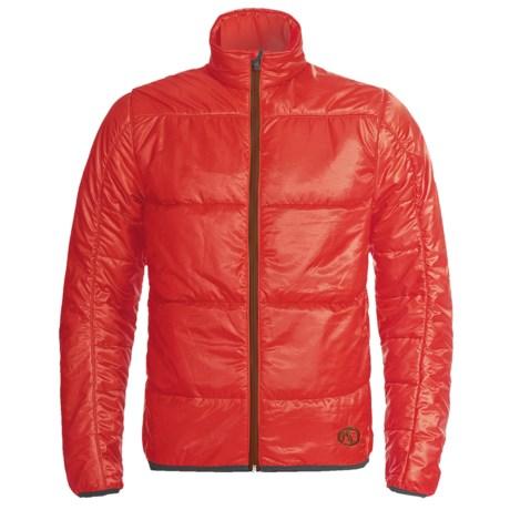 Marker Granite Jacket - PrimaLoft® (For Men) in Mars Red