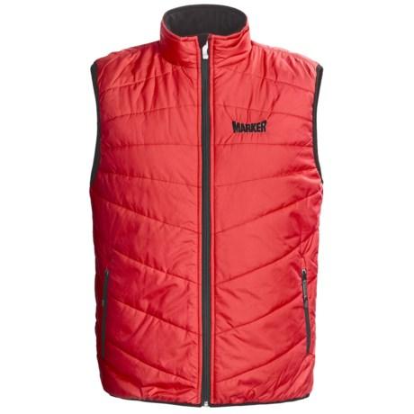 Marker Heater Vest (For Men) in Red