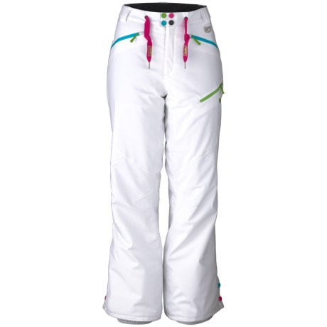 Marker Heiress Pants - Waterproof, Insulated (For Women) in White
