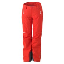 Marker High Line Gore-Tex® Ski Pants - Waterproof, Insulated (For Petite Women) in Aurora Red - Closeouts