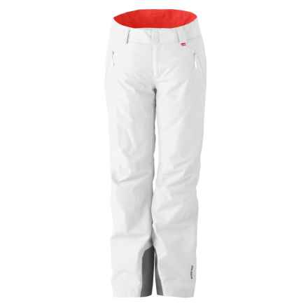 Marker High Line Gore-Tex® Ski Pants - Waterproof, Insulated (For Women) in Crisp White - Closeouts