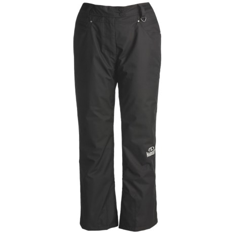 Marker High-Performance Ski Pants - Waterproof, Insulated (For Women) in Black