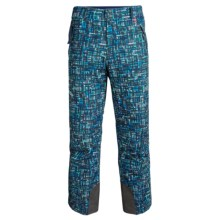Marker Hole Shot Ski Pants - Waterproof, Insulated (For Men) in Dark Night Woods - Closeouts