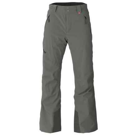 Marker Hole Shot Ski Pants - Waterproof, Insulated (For Men) in Dark Shadow - Closeouts