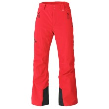 Marker Hole Shot Ski Pants - Waterproof, Insulated (For Men) in Red - Closeouts