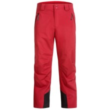 Marker Hole Shot Soft Shell Ski Pants (For Men) in Rio Red - Closeouts