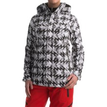 Marker Inverness Ski Jacket - Waterproof, Insulated (For Women) in Black Chopper - Closeouts