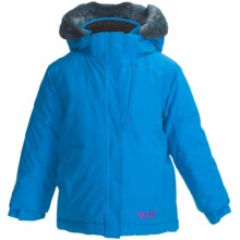 Marker Jasmine Jacket - Insulated (Little Girls) in Cadet - Closeouts
