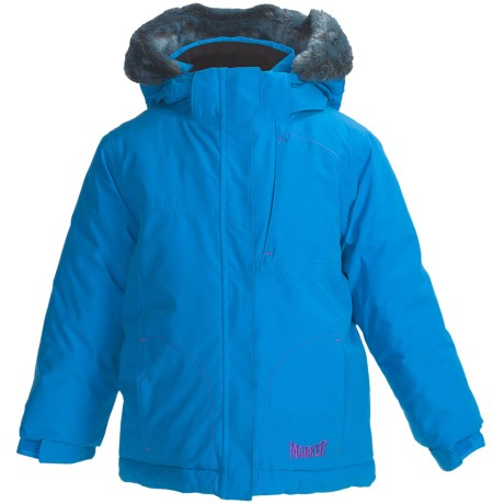 Marker Jasmine Jacket - Insulated (Little Girls) in Cadet