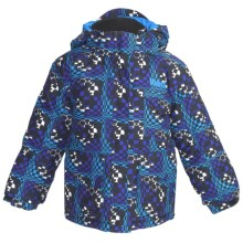 Marker Joker Jacket - Insulated (For Little Boys) in Blue Print - Closeouts