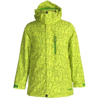 Marker Jr. B. Ace Ski Jacket (For Boys) in Green