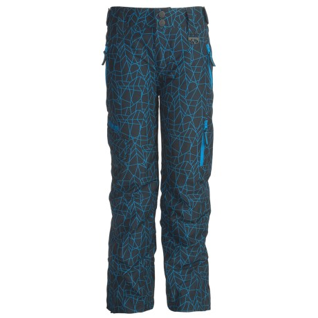 Marker Jr. B. Knight Ski Pants - Insulated (For Boys) in Black