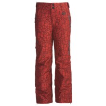 Marker Jr. B. Knight Ski Pants - Insulated (For Boys) in Red - Closeouts