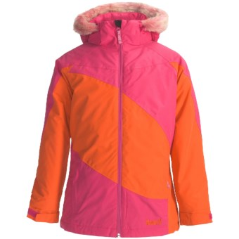 Marker Jr. G. Contessa Ski Jacket - Insulated (For Girls) in Hot Pink/Orange