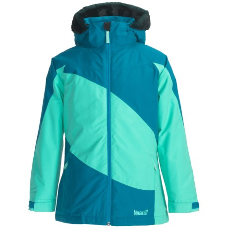 Marker Jr. G. Contessa Ski Jacket - Insulated (For Girls) in Ocean/Aqua