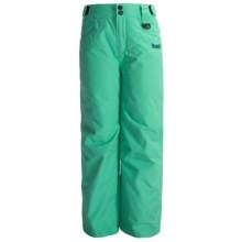 Marker Jr. G. Countess Ski Pants - Insulated (For Girls) in Aqua - Closeouts