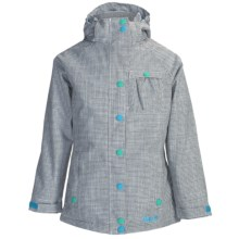 Marker Jr. G. Duchess Jacket - Insulated (For Girls) in Black/White - Closeouts