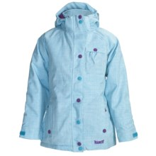 Marker Jr. G. Duchess Jacket - Insulated (For Girls) in Sky/White - Closeouts