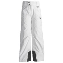 Marker Jr. G. Pop Jean Pants - Insulated (For Girls) in White - Closeouts