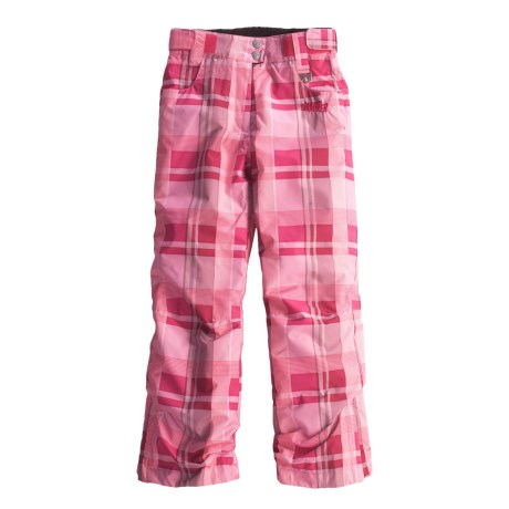 Marker Jubilee Jean Snow Pants - Insulated (For Girls) in Cerise/Pink