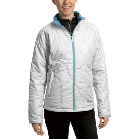 Marker Kate Quilt Jacket - Insulated (For Women) in White