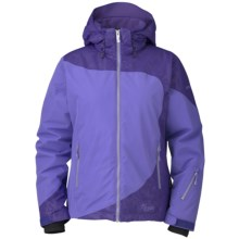 Marker Lumina Gore-Tex® Jacket - Waterproof, Insulated (For Women) in Periwinkle/Violet - Closeouts