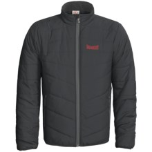 Marker M. Heater Jacket - Insulated (For Men) in Black - Closeouts